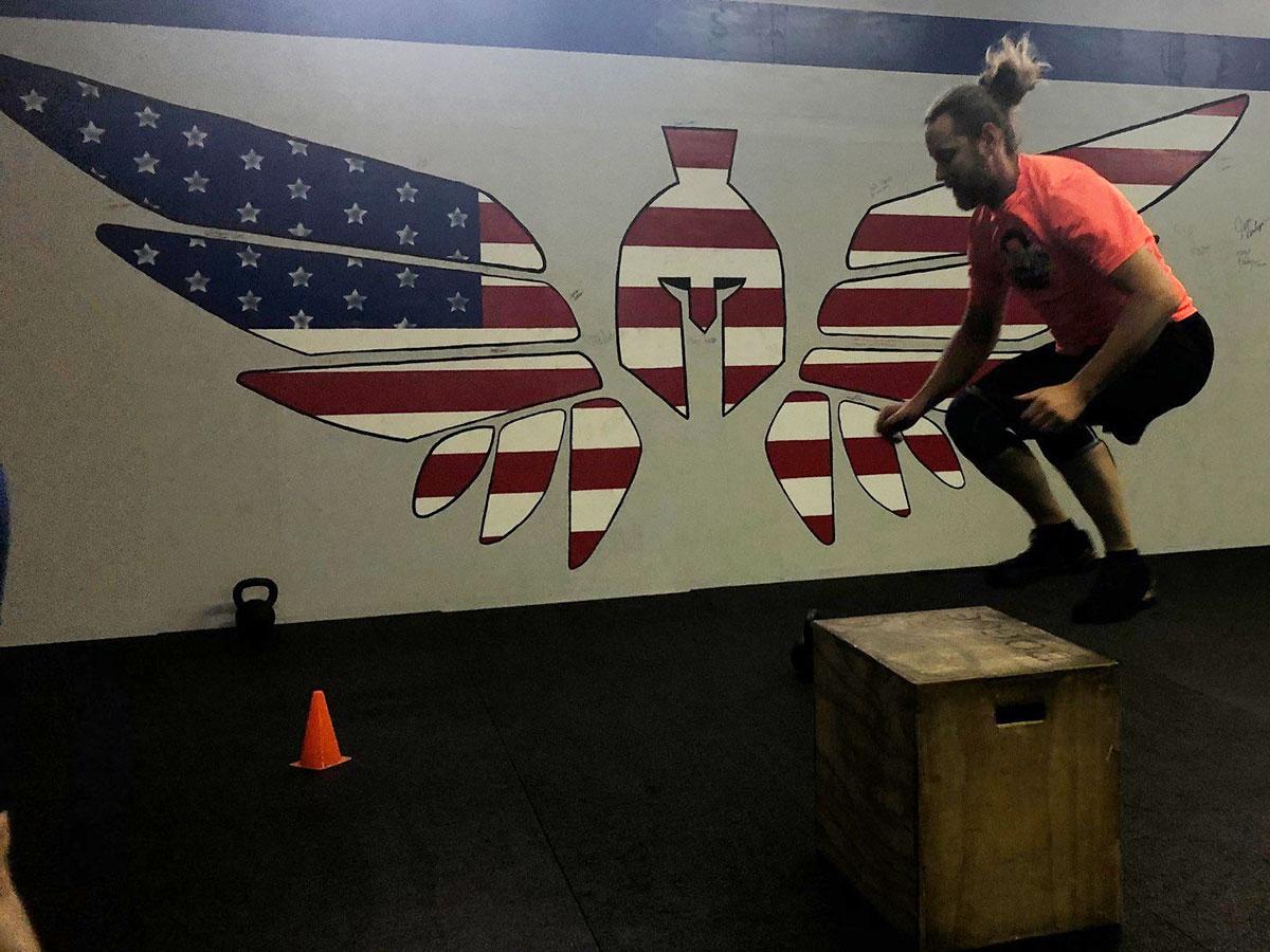 Crossfit Warrior Risen Box Jump