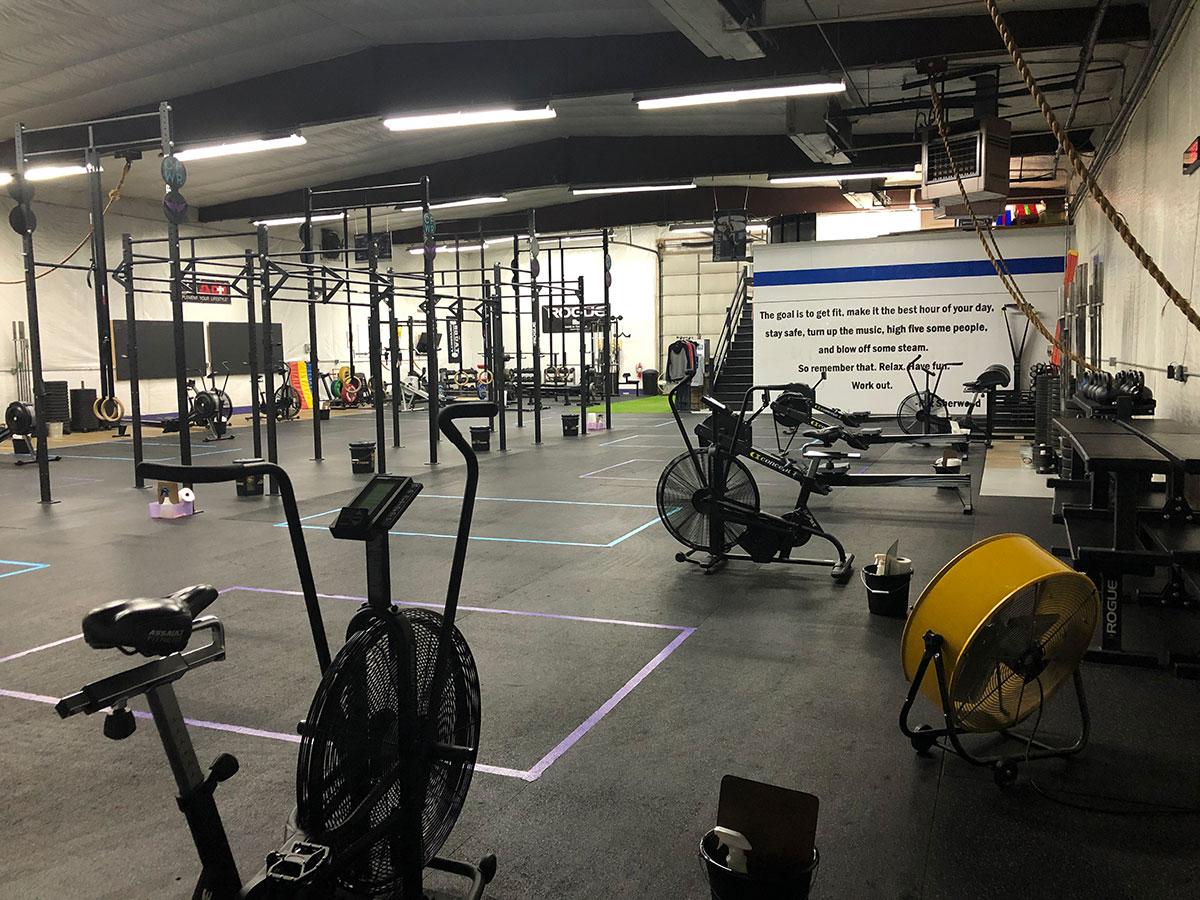 Crossfit Warrior Risen Gym